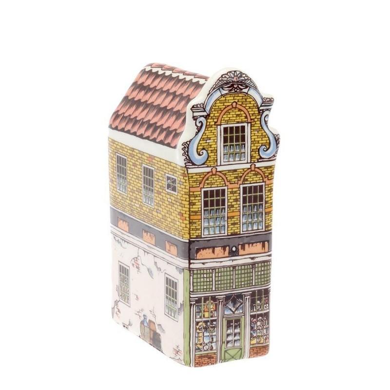 Polychroom - Klein Fantasie gevel - Grachtenhuis