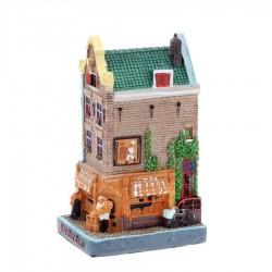 Polystone Grachtenhuisjes Bakkerij - Rechter hoekwoning