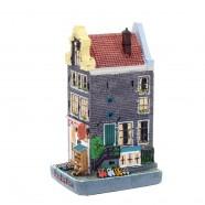 Polystone Grachtenhuisjes Klompenwinkel - Rechter hoekwoning