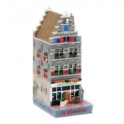 Polystone Grachtenhuisjes Coffeeshop  - Rechter hoekwoning