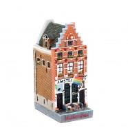 Polystone Grachtenhuisjes Cafe Amstel