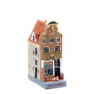 Polystone Grachtenhuisjes Antiekwinkel