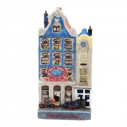 Het smalle huisje Grachtenhuis