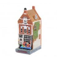 Polystone Canal Houses Paintings - Amsterdams Welvaren