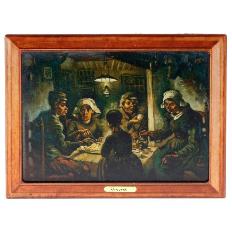 Famous Painters The Patato Eaters - Van Gogh - 3D MDF