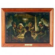 Bekende Schilders De Aardappeleters - Van Gogh - 3D MDF