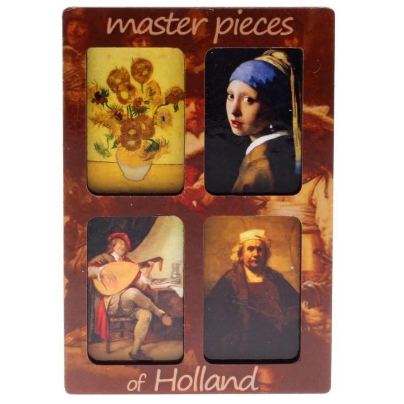 Bekende Schilders Master pieces - 3D MDF
