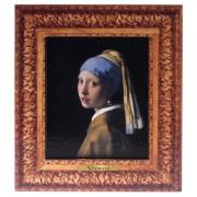 Bekende Schilders Meisje met de parel - Vermeer - 3D MDF