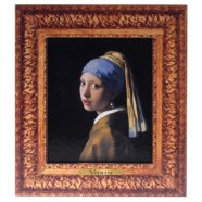 Famous Painters Girl with a Pearl Earring - Vermeer - 3D MDF