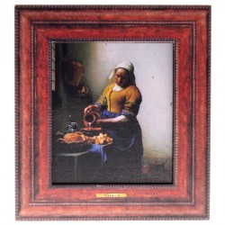 Melkmeisje - Vermeer - 3D MDF