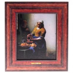 Milkmaid - Vermeer - 3D MDF
