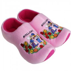 Clogs Slippers Pink Kissing couple - Clog Slipper