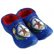 Clogs Slippers Tulip Blue Windmill - Clog Slipper
