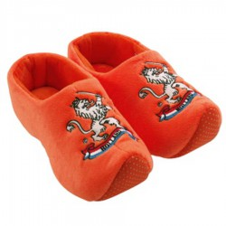 Klomppantoffels Leeuw Oranje - Klomp Sloffen