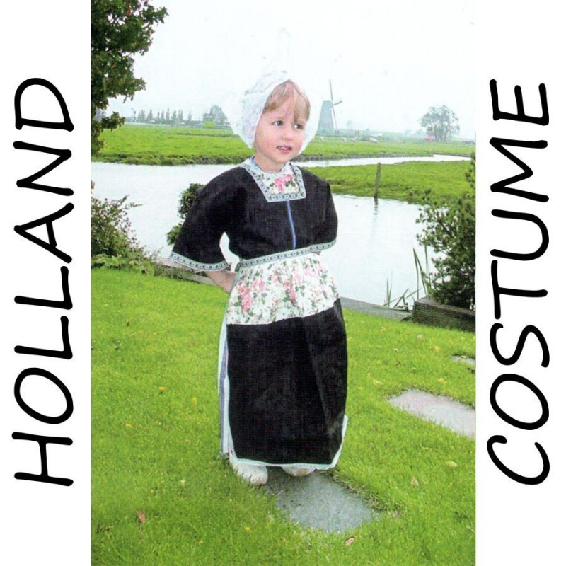 Costume Holland Girl 7-9 years - Holland Costume