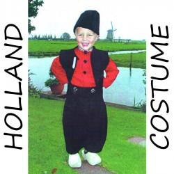 Jongen 7-9 jaar Holland Kostuum