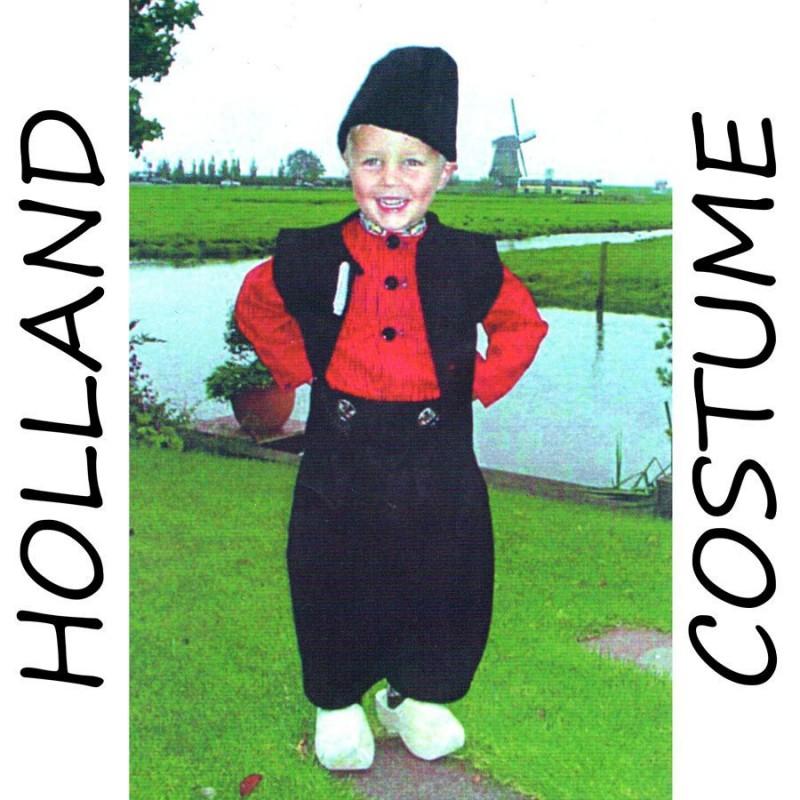 Costume Holland Boy 7-9 years - Holland Costume