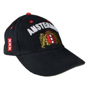 Caps - Baseball Caps Black - Amsterdam Cap