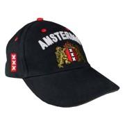 Petten - Baseball Caps Zwart - Amsterdam Cap