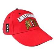 Petten - Baseball Caps Rood - Amsterdam Cap