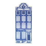 Delft Blue - Large Stump Gable -  Canal House