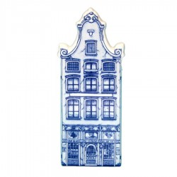 Delft Blue - Large Bell Gable -  Canal House