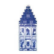 Delft Blue - Large Red Light District -  Canal House