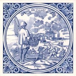 Tiles The Fisherman - Tile 15x15 cm