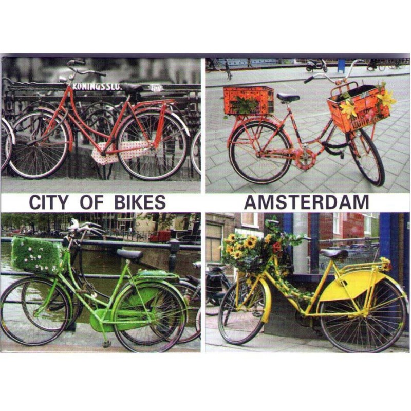 Magnets City of Bikes Amsterdam
