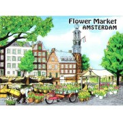 Magnets Flowermarket Amsterdam