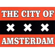 Magnets Flag of Amsterdam