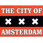 Magneten Vlag van Amsterdam