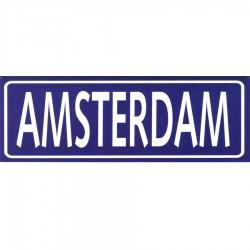 Magneten Blauw Amsterdam Rechthoek