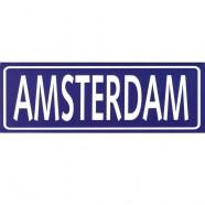 Blue Amsterdam Rectangle