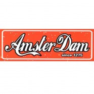 Red Amsterdam Rectangle - Flat Magnet
