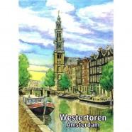 Westertoren - Platte Magneet