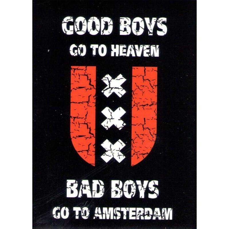 Bad Boys - Flat Magnet