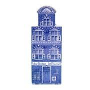 Delfts Blauw - Groot Politie - Halsgevel - Grachtenhuis