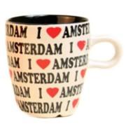 Mugs - Glasses I love Amsterdam - Coffee Mug 8cm