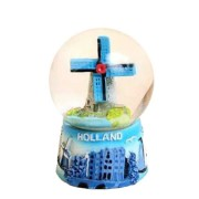 Snow Water Globe Windmill Holland - Snow Globe 6cm