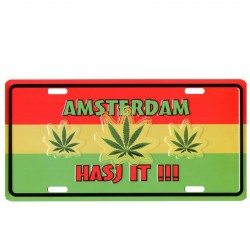 Licence Plates Amsterdam Hasj It