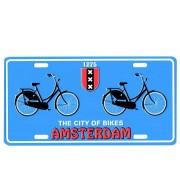 Kentekenplaat Amsterdam City of Bikes