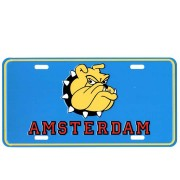 Licence Plates Amsterdam Dog