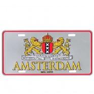 Wapen of Amsterdam Silver