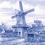 Tiles Windmill Barn - Tile 15x15 cm