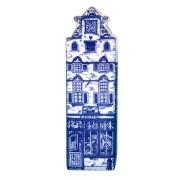 Delft Blue - Small Triangular Gable -  Canal House