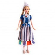 Dolls  Fashion Doll Sandy 32cm - Traditional Holland Costume