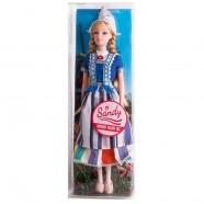 Tienerpop Sandy 32 cm - Traditionele Hollandse Klederdracht