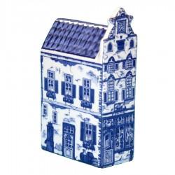 Delfts Blauw - Klein Tuitgevel - Grachtenhuis