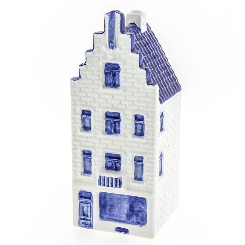 Grachtenhuisje trapgevel 1 klein - 11cm